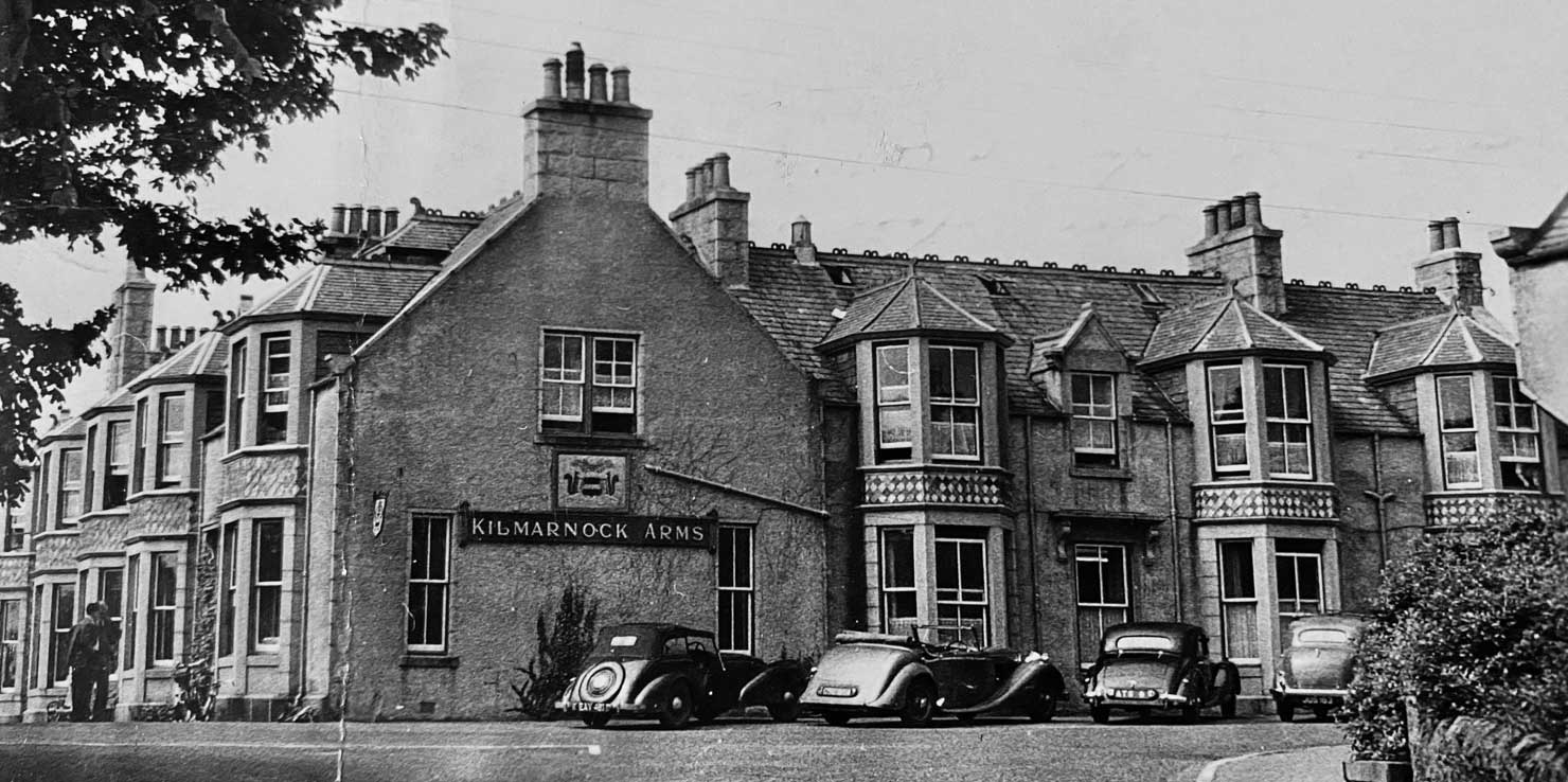History of the Kilmarnock Arms hotel